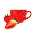 Strawberry tea Royalty Free Stock Photo