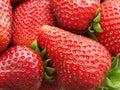 Strawberry Texture Royalty Free Stock Photo