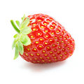 Strawberry on white background Royalty Free Stock Photos