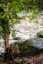 Stream of Chamang Fall Royalty Free Stock Photos