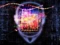 Stream of consciousness Royalty Free Stock Photo