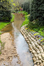 Stream Through Garden Royalty Free Stock Photo