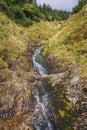 Stream on a Sniezka Mountain Royalty Free Stock Photo