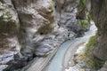 Stream of taroko gorge Royalty Free Stock Photo
