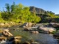 Streams Swat Pakistan Royalty Free Stock Photo