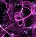 Streams of swirling binary Royalty Free Stock Photo