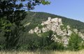 Strecno ruin castle Royalty Free Stock Photo