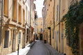 Street in Aix-en-provence Royalty Free Stock Images