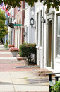 Street in Alexandria, Virginia Stock Image