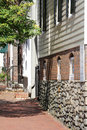 Street in Alexandria, Virginia Stock Photo