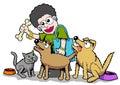 Street animal lover