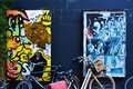 Street art in amsterdam netherlands april april Stock Image