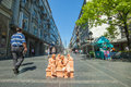 Street art in Belgrade Stock Photography