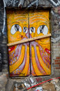 Street art montreal canada july on july in canada is the perfect place to walk in the back alleys and Stock Images
