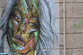 Street Art Portrait Royalty Free Stock Photo