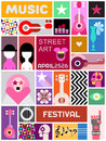 Street Art Poster Template Design