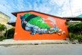 "Street art Project ""70110 : Ban Pong Urban Art Terminal #1/201"