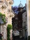 Street in baden baden langeshtrasse germany Stock Image