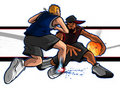 Street Ball Ankle Breaker Royalty Free Stock Photo