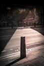 Street barrier Royalty Free Stock Photo