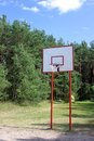 Street basketball hoop Stock Photography