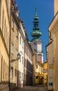 A street in Bratislava old town