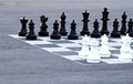 Street chess Royalty Free Stock Photos