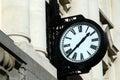 Street clock Royalty Free Stock Photo