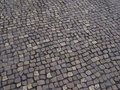 Street cobblestones old texture background Royalty Free Stock Image