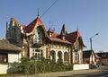Street In Dabrowa Tarnowska. P...
