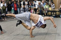 Street Dancer in Berlin Royalty Free Stock Photos