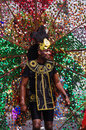 A street dancer at London Notting Hill Carnival Royalty Free Stock Photo