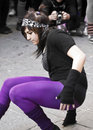 Street Dancers Stock Photo