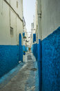 Street in de medina the of rabat morocco Stock Images