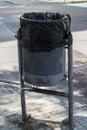 Title: Street Dust-bin