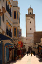 Street in Essaouira Royalty Free Stock Photo