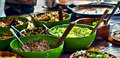 Street food: african kitchen Royalty Free Stock Photography