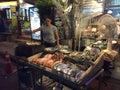 Street food in bangkok Stock Images