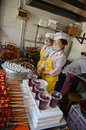 Street food in chengdu sichuan china Stock Image