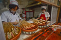 Street food in chengdu sichuan china Stock Photography
