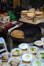 Street food in china asian xian Stock Image