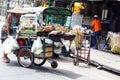 Street food vendor cart