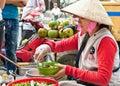 Street food vendor in the street of ho chi minh vietnam november on noveber estimate s population Stock Photography