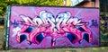 Street graffity in Dublin Royalty Free Stock Photo