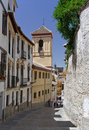 Street in Granada Stock Photos