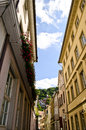 Street in Heidelberg Germany Royalty Free Stock Photos