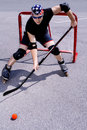 Street hockey #3 Royalty Free Stock Photography