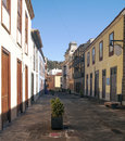 Street of La Laguna Royalty Free Stock Images