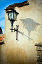 Street lamp, classic lantern Stock Photo