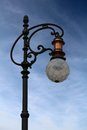 Street lamp closeup of the Stock Photography